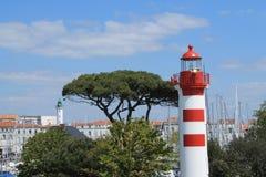 alter Hafen von La Rochelle in Frankreich Lizenzfreie Stockfotografie
