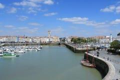 alter Hafen von La Rochelle in Frankreich Lizenzfreie Stockbilder
