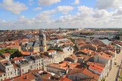 Alter Hafen von La Rochelle, Frankreich Stockfotografie