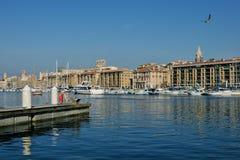 Alter Hafen von Marseille lizenzfreies stockbild