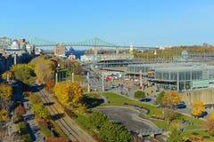 Alter Hafen von Montreal, Kanada Lizenzfreies Stockbild