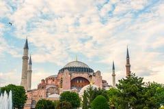 Alter Hagia Sophia Exterior Lizenzfreie Stockfotos