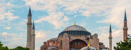 Alter Hagia Sophia Exterior Lizenzfreie Stockbilder