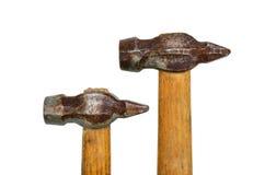Alter Hammer zwei Stockbild