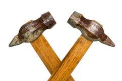 Alter Hammer zwei Lizenzfreies Stockbild