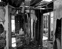 Alter Haus-Innenraum-Bau Stockfotografie