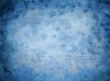 Alter Hintergrund des blauen Papiers Stockfotos
