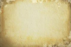 Alter Hintergrund des braunen Papiers Stockfotografie