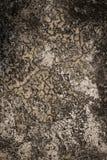 Alter Hintergrund des gebrochenen Zementes Lizenzfreies Stockfoto