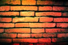 alter Hintergrund des Ziegelsteines in Thailand Lizenzfreies Stockbild