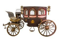 Alter historischer Wagen vektor abbildung