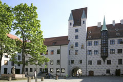 Alter Hof in Munich, Bavaria Royalty Free Stock Photos