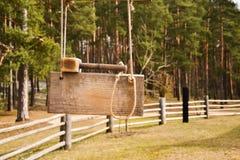 Alter Holzhammer Lizenzfreie Stockbilder