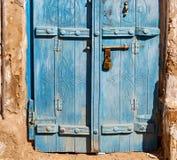 in alter Holztür Omans Stockbilder