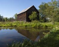 Alter Hudson Valley Barn lizenzfreie stockfotografie