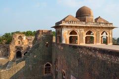 Alter indischer Tempel, alte Festungsruinen Lizenzfreie Stockbilder