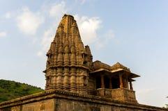 Alter indischer Tempel in Rajasthan Lizenzfreie Stockfotos