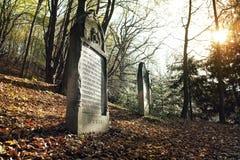 Alter jüdischer Kirchhof Lizenzfreie Stockbilder