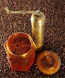 Alter Kaffeeschleifer Stockbilder
