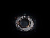 Alter Kameraverschluss Stockfotos