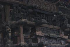 Alter Kampfwagen für hindischen Gott stockfotografie