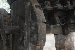 Alter Kampfwagen für hindischen Gott stockbilder