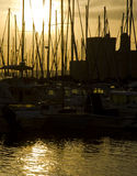 Alter Kanal, Marseille Stockfotos