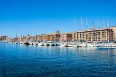 Alter Kanal in Marseille, Frankreich lizenzfreie stockfotos
