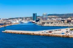 Alter Kanal in Marseille, Frankreich stockfotografie