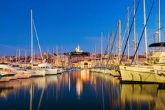 Alter Kanal in Marseille, Frankreich stockfoto