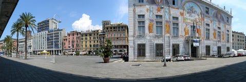 Alter Kanal von Genua lizenzfreies stockbild