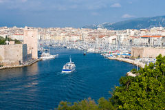 Alter Kanal von Marseille Stockbilder