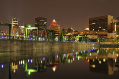 Alter Kanal von Montreal Stockbild