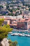 Alter Kanal von Nizza stockfoto