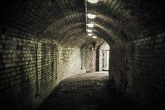 Alter Kenigsberg-Schlosseingang Fort des Zweiten Weltkrieges Lizenzfreie Stockfotos