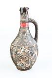 Alter keramischer Vase Stockbild