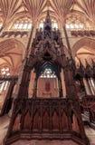 Alter Kircheinnenraum stockfotografie