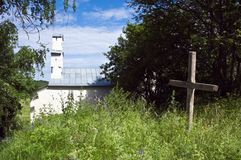 Alter Kirchhof Lizenzfreies Stockfoto