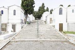 Alter Kirchhof in der Stadt von Lissabon Lizenzfreie Stockfotos