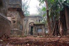 Alter Kirchhof in Indien Stockfotos