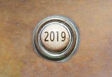 Alter Knopf - 2019 Stockfotos