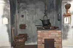 Alter kochender Bereich Lizenzfreies Stockbild