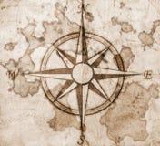 Alter Kompass vektor abbildung