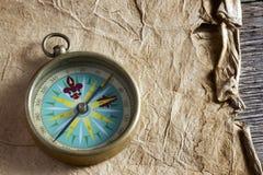 Alter Kompass Lizenzfreie Stockbilder