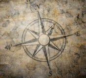 Alter Kompass stock abbildung