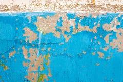 Alter Lack auf der Wand Lizenzfreie Stockfotos