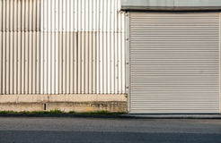 Alter Lager-Hafen Lizenzfreie Stockfotos