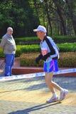 Alter Langstreckenläufer Stockbilder