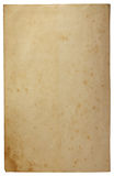Alter leerer brauner Kraftpapierhintergrund lizenzfreies stockbild