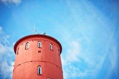 Alter Leuchtturm Stockbild